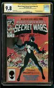 Secret Wars 8 Cgc 9.8 Ss X3 Signed By Beatty Shooter Zeck White Pages