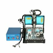 V0 110v 1500w 4 Axis Cnc3040 Router Engraving Drilling Milling Machine Usb Port