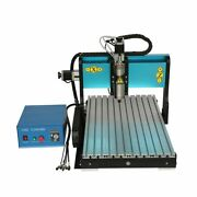 V0 110v 800w 3 Axis Cnc 6040 Router Engraving Milling Machine Parallel Port