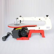 V0 16 Electric Variable Speed Wood Tool Jig Scroll Saw 45° Tilt Cast Iron Base