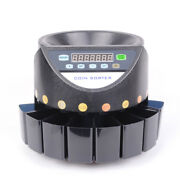 V0 Auto Pound Gbp Coin Counter Money Sorter Electric Bank Cash Sorting Machine