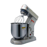 V0 Electric Stand Mixer Egg Beater Stainless Steel Bowl 5l 500w Speed Control