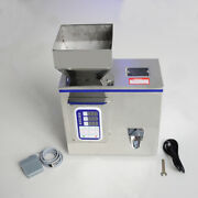 V0 2-100g Semi-auto Granular Particle Subpackage Device Weighing Filling Machine