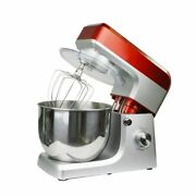 V0 Electric Food Stand Mixer Stainless Steel Bowl Tilt-head 1200w 5l 6 Speed