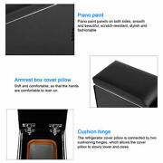 Armrest Box 3 Usb Ports With 8l Refrigerator Wireless Charger 4.2a For