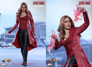 Hot Toys Mms370 Captain America-civil War Scarlet Witch 5.0 1/6 Figure Instock