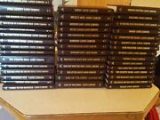 Louis Lamour Leatherette Books, Lot Of 43, Various Years, All At Least In Vgcond