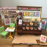 Bandai Licca-chan Donut Filled Mr. Shop With Dolls