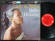 Billie Holiday Lady In Satin Vinyl Lp Id5859a