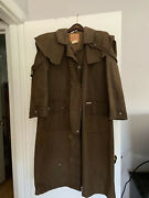 Vintage Morrisons Australia Oversized M 46in Long Waxed Riding Stockman Coat