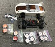 Custom Works 1/10 Late Model Wedge Rc Oval Dirt Model Unknown W/extras