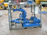 Itur 65 / 160 Be Twin Water Pump 3ph With 4 Ins Bauer Fittings