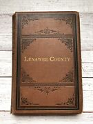 Antique History And Biographical Record Of Lenawee County Michigan Book 1879