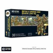Warlord Games Bolt Action 402011020 British And Canadian Army Infantry 1943-45