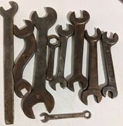 Antique Ih Open-end Wrench G3173 International Harvester/ford/teweles And More.