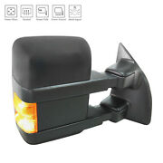 Textured Right Side Mirror Power Power Folding Heated W/signal 128-4256
