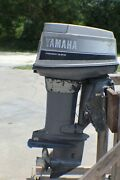 Yamaha Precision Blend 50 Hp Outboard Motor Triple Cylinder