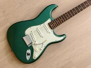 2013 Fender American Vintage And03959 Stratocaster Sherwood Green W/ Case Hangtags