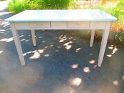 Farm Table Porcelain Top Kitchen Center Island 56 X 33 Shipping Question Call