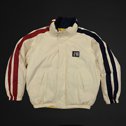 Nautica Expedition Duck Down Puffer Jacket Mens Size Large Vtg