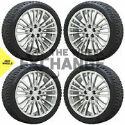20 Cadillac Xts Ct6 Wheels Winter Snow Tires Factory Oem Gm Package Set 4 4830