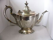 Reed And Barton Hepplewhite Engraved Sterling Tea Or Coffee Pot No Monogram