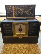 Vintage Zenith L507 Chassis 5l42 Shortwave Tube Radio - For Parts Or Repair