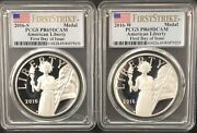 2016 S And W American Liberty Silver Medal Pcgs Pr69dcamfirst Daypop 15 And 17