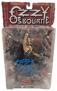 Ozzy Osbourne Signed Action Figure Mcfarlane Toy Autograph Beckett Witness Holo