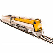 Broadway Limited Imports Ho L-1 4-6-4 With Dcc And Paragon 3 Cando/yellow 493