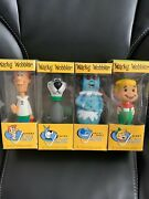 Jetsons Funko Wacky Wobblers George Elroy Astro Rosie The Robot Bobbleheads