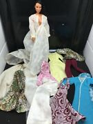 Vintage 1960s 1970s Handmade Mommy Made 12 Mego Cher Doll Size Clothes Lot