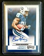 2016 Panini Playoff Derrick Henry Rc Auto 🔥 1/1 🔥 Titans Rb Rookie One Of One