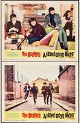The Beatles A Hard Day's Night United Artists 1964 Lobby Cards X 2 11 X 14