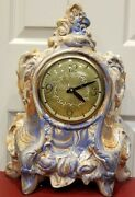 Vintage 1975 Alaskan Clay Landshire Clock 16.5 Inches Ac Powered