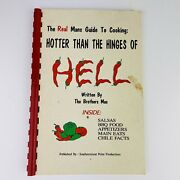 Real Man's Guide Hotter Than Hinges Of Hell Cookbook Bbq Salsa Chili Facts
