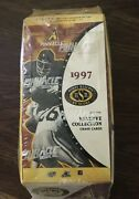 1997 Pinnacle Reserve Collection Factory Sealed Football Hobby Box