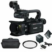 Canon Xa40 Professional Uhd 4k Video Camcorder - Bundle With Carrying Case
