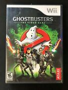 Ghostbusters The Video Game Nintendo Wii, 2009 Not Original Case