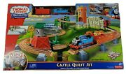 Fisher Price Thomas And Friends Trackmaster Castle Quest Set New Box Damage