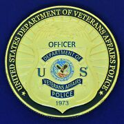 Us Department Of Veterans Affairs Police Challenge Coin Cc7