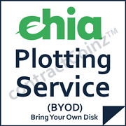 🌱 Chia Plots Service Network Coin Plotting Cryptocurrency Mining Farming Paas