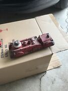 Early Auburn F.d. Red Rubber Truck Made In The Usa