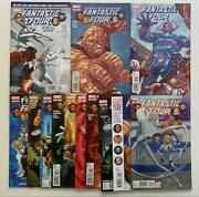Fantastic Four 600 To 611 + 605.1 Marvel 2012 13 X Vf And Nm Condition Issues