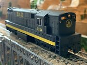Ho Scale Spectrum Fm H16-44 Baby Trainmaster Dc Powered Diesel Locomotive B And O