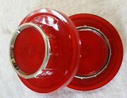 1956 Ford Tail Rear Lamp Lights Lenses Pair Glo Brite 320 New