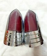 1949 Buick Tail Lights Pair Genuine Guide R-49 Used 17