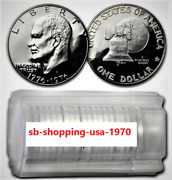 Roll 1776 -1975 1976 S Proof Type-1 And Type 2 20 Gem Coin Bu Eisenhower Dollars