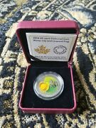 Rcm Canada 25 Cents 2014 Waterlily And Leopard Frog