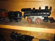 Ives No. 5 Locomotive Engine With Tender No. 11 And Passenger Cars 50 51 52
